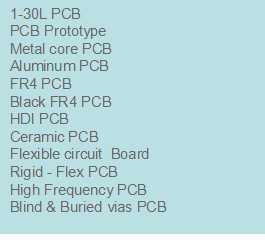 Porducts-PCB & PCBA manufacturer